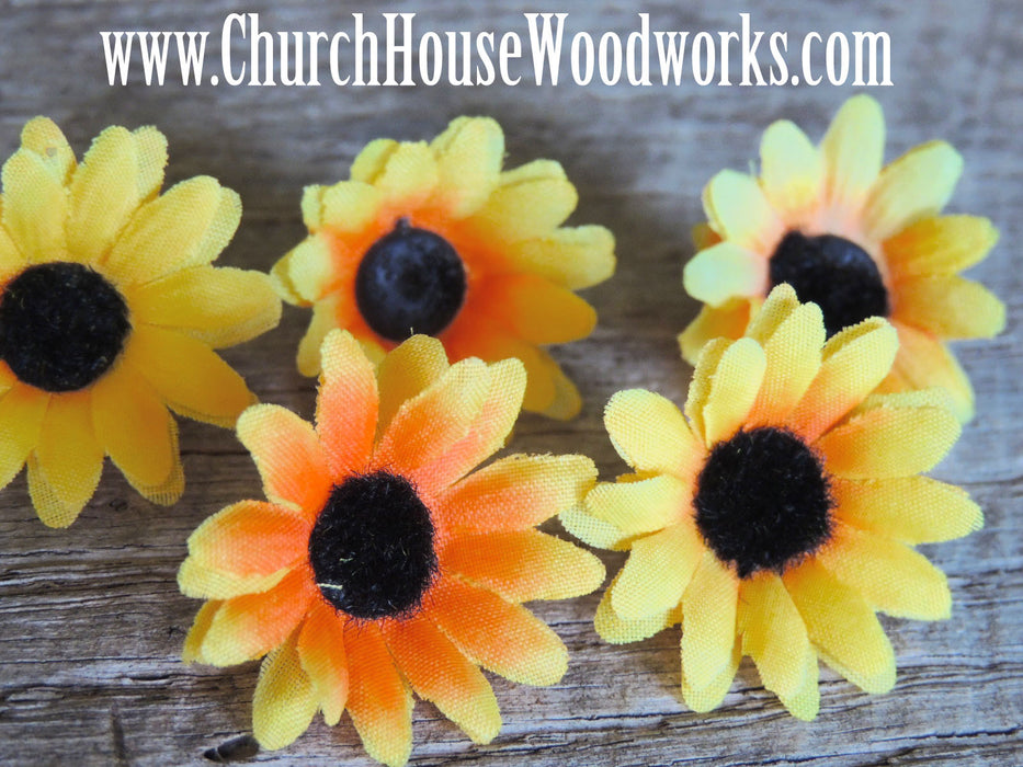 Sunflower Artificial Flowers-Pack of 100