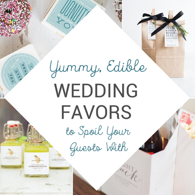 8 Edible Wedding Favors That Even The Most Jaded Wedding Guests Will Love