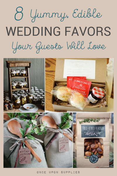 Edible Wedding Favor Ideas Your Guests Will Love
