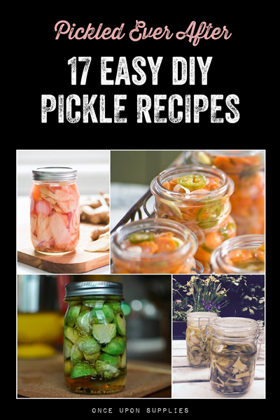 easy diy pickle recipes for your wedding favors