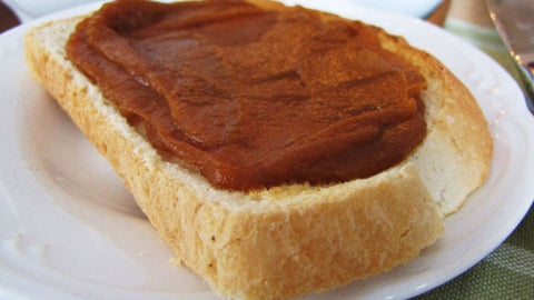 pumpkin butter on toast