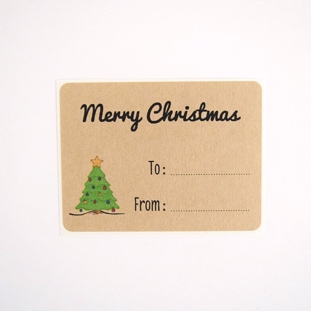 Merry Christmas Labels.Christmas Labels Mixed Designs
