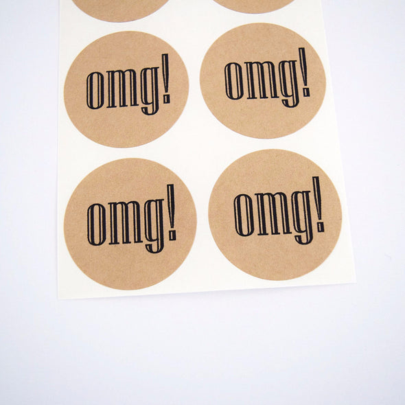 OMG Round Stickers - Once Upon Supplies - 3