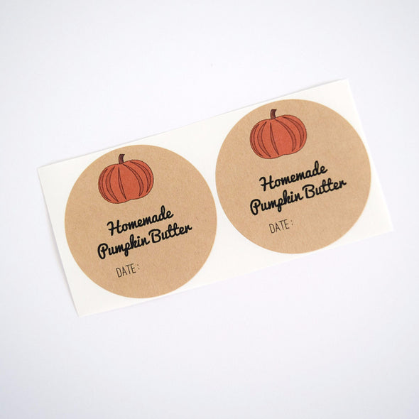 Pumpkin Butter Mason Jar Labels - Once Upon Supplies - 2