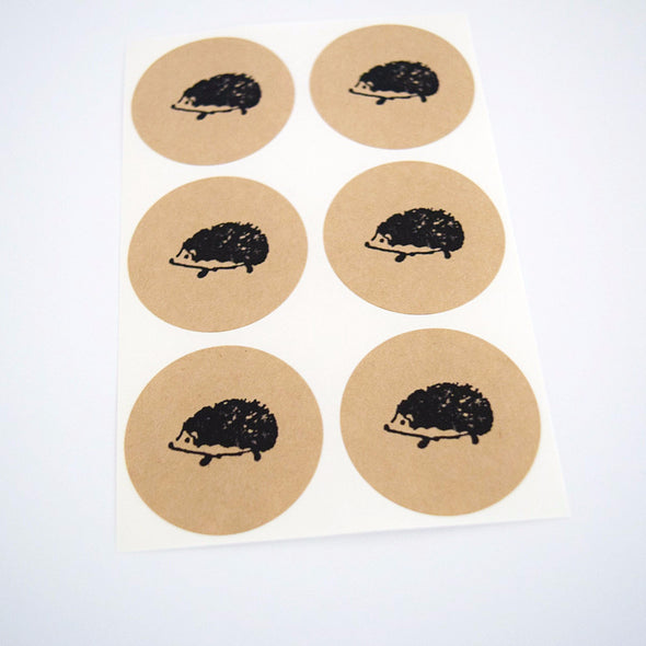 Hedgehog Stickers - Once Upon Supplies