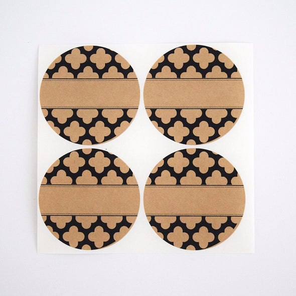Moroccan Pattern Spice Labels