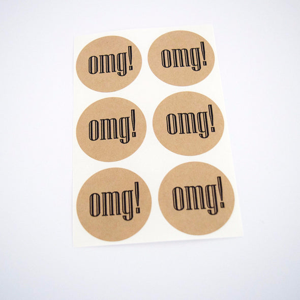 OMG Round Stickers - Once Upon Supplies - 4