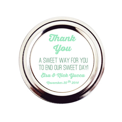 Rustic Candy Buffet Wedding Favor Labels - Once Upon Supplies