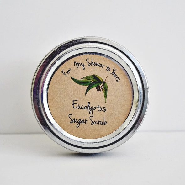 Eucalyptus Sugar Scrub Labels