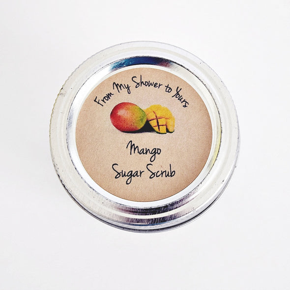 Mango Sugar Scrub Labels