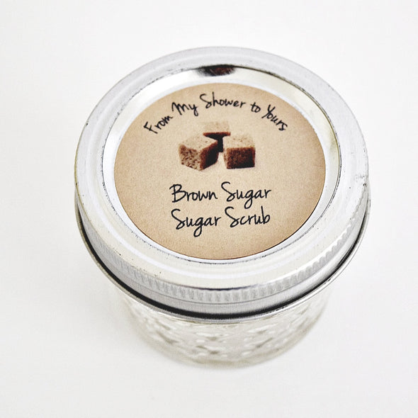 Brown Sugar Scrub Labels