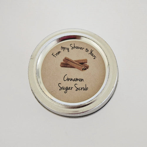 Cinnamon Sugar Scrub Labels