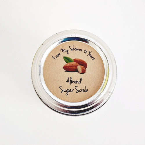 Almond Sugar Scrub Labels