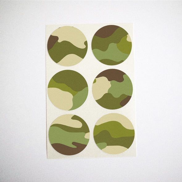 Camoflouge Stickers