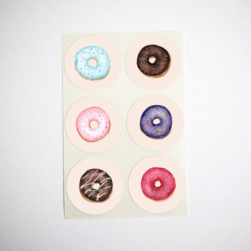 Mixed Donuts Stickers