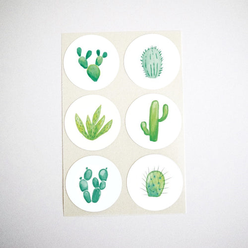 Cacti Collection Stickers