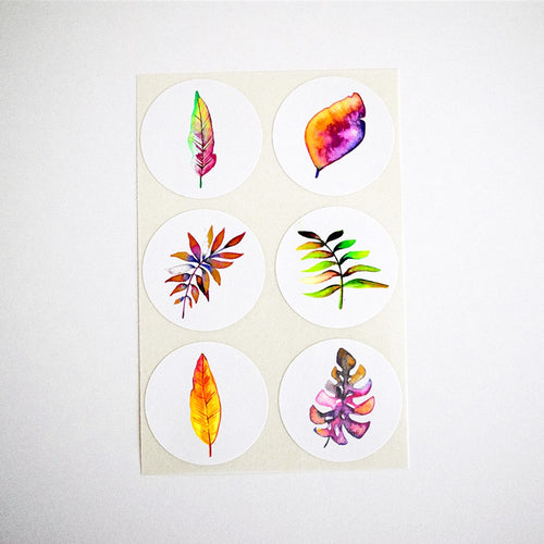 Autumn Leaves Collection Stickers