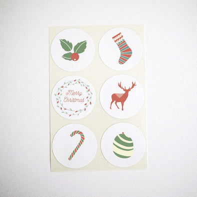Christmas Collection Stickers