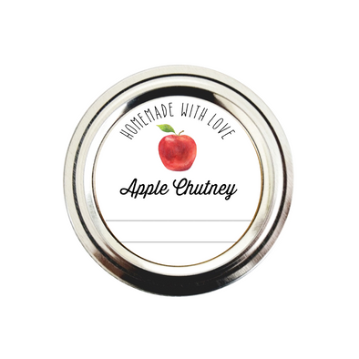 Apple Chutney Labels | Christmas Chutney Labels | Once Upon Supplies