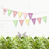 Happy Easter Party Garland - Pastel Colors