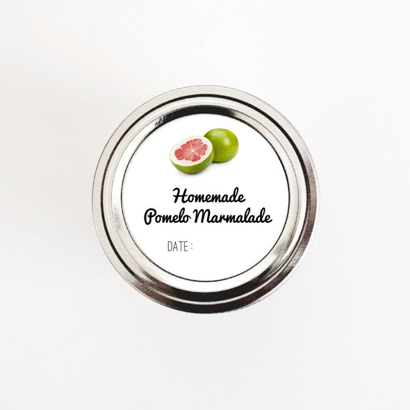 Pomelo Marmalade Jar Stickers - Once Upon Supplies