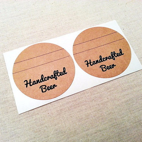 Handcrafted Beer Labels - Beer Bottle Labels