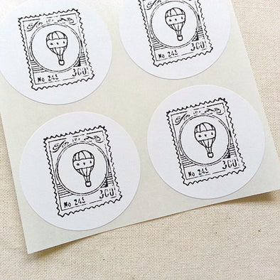 Hot Air Balloon Stickers - Once Upon Supplies