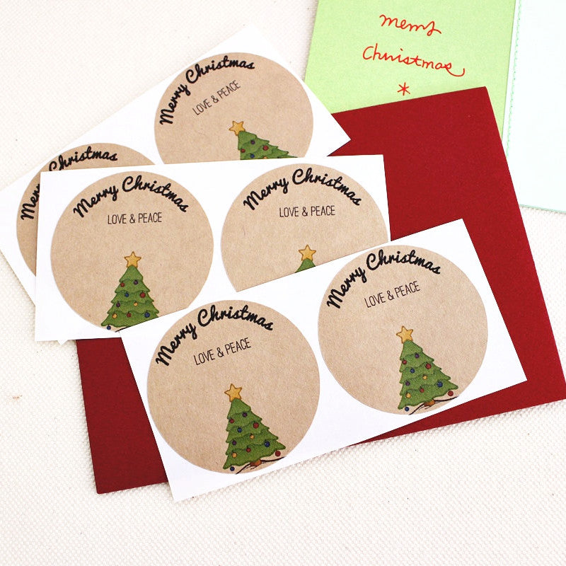 Christmas Tree Mason Jar Canning Labels - Once Upon Supplies