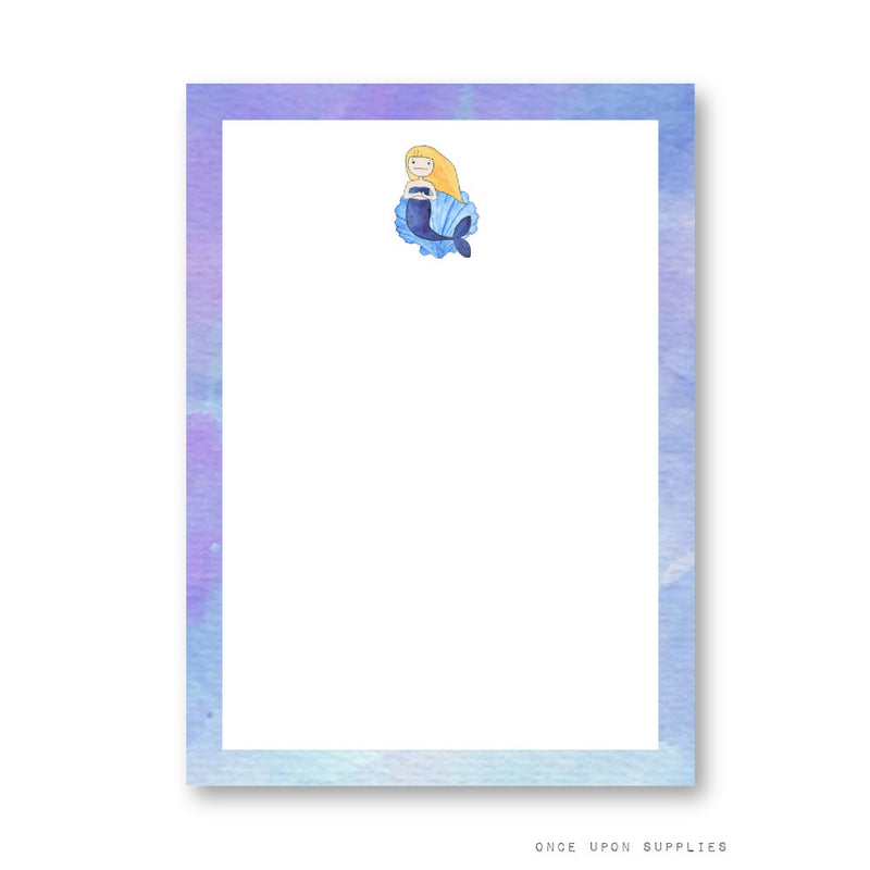 Mermaid Blank Cards for Table Signs, Names and Menu