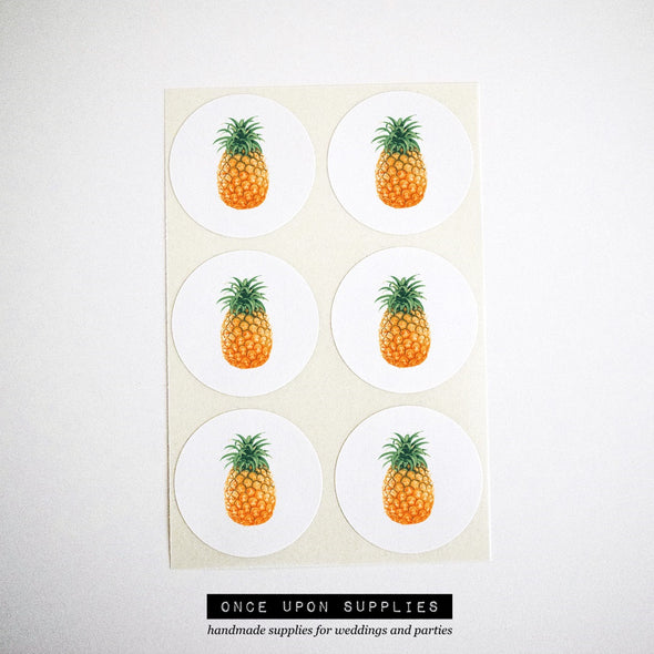 Pineapple Envelope Seals