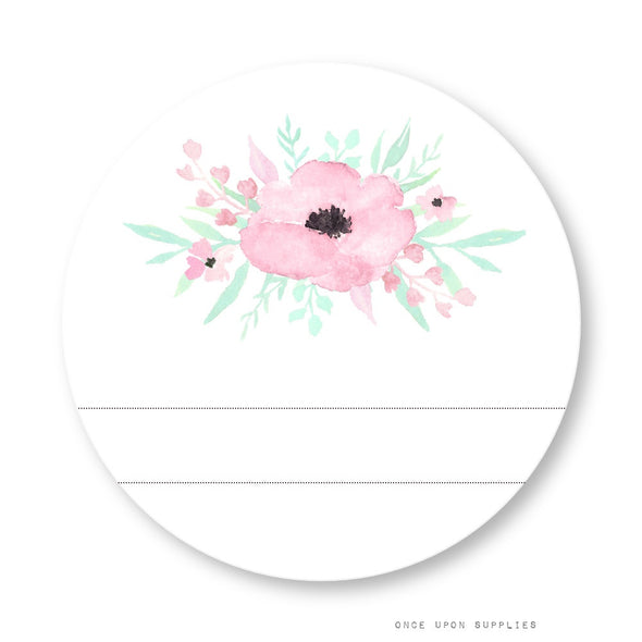 Secret Garden Labels with Blank Space