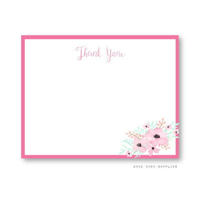 Secret Garden Thank You Cards