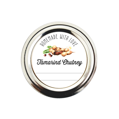 Homemade Tamarind Chutney Labels | Once Upon Supplies