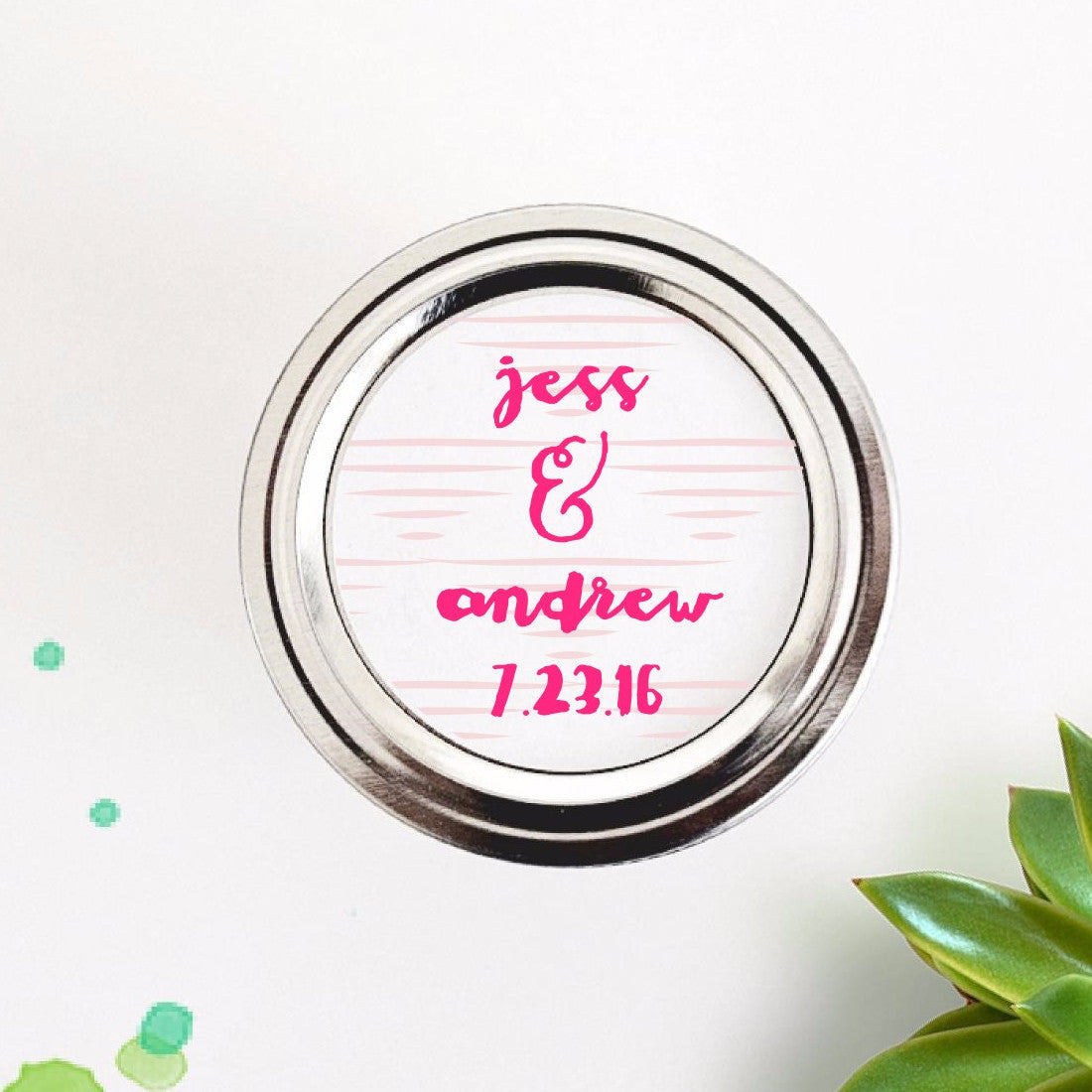 Tribal Triangles Wedding Favor Labels / Stickers
