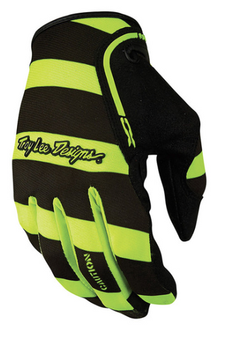 TLD XC Caution Gloves