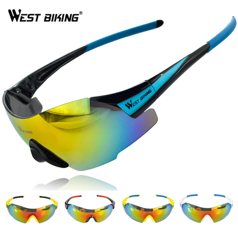 WEST BIKING Cycling Eyewear MeN Goggle Glasses Sunglasses Windproof UV400 Gafas Ciclismo MTB Bike Bicycle Cycling  Eyewear