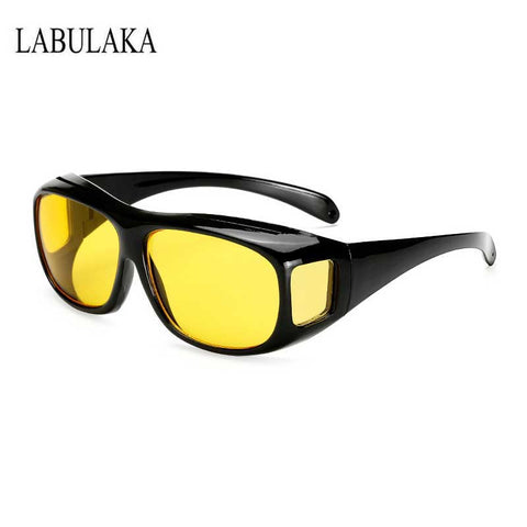 Yellow Lens Sun glasses HD Night Vision Goggles Male Retro Multi-function Night Driving Glasses Men UV Protection Sunglasses