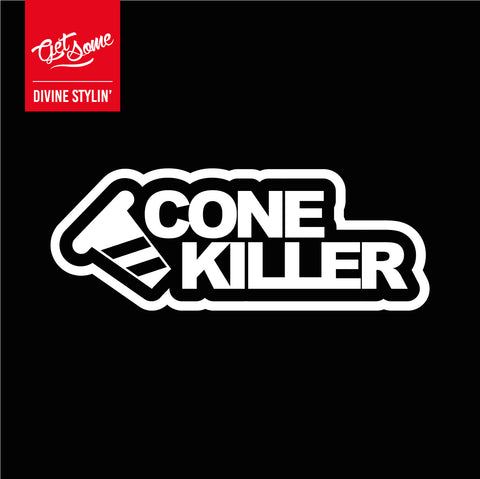 Cone Killer Decal