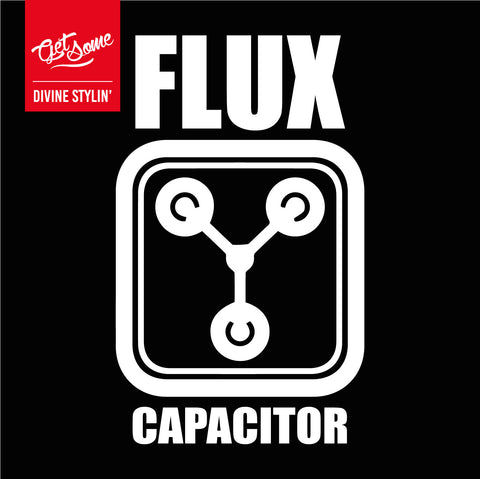 Flux Capacitor Decal