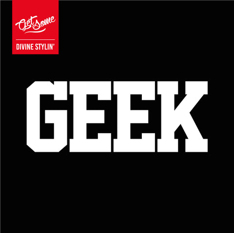 Geek Decal
