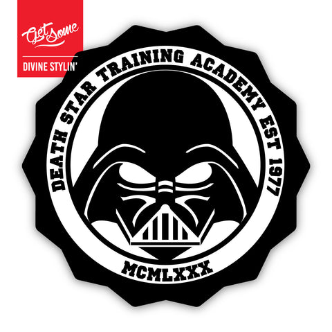 Darth Vader Death Star Academy Sticker