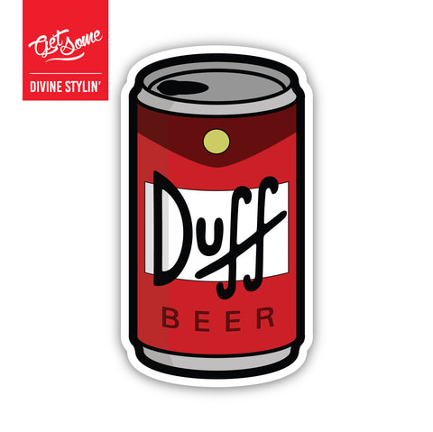 Duff Beer Sticker
