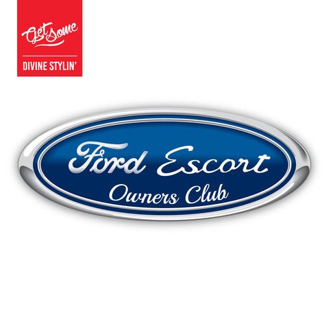 Ford Escort Mk1 Owners Club Sticker