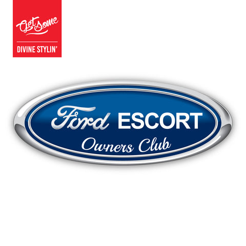 Ford Escort Mk2 Owners Club Sticker