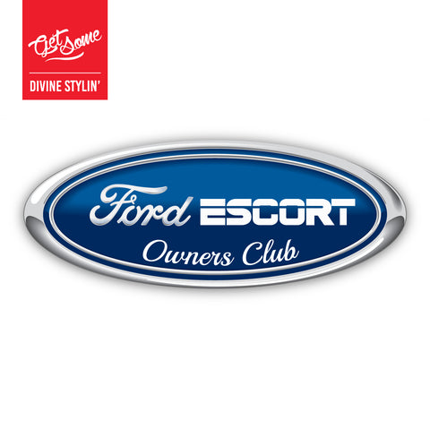 Ford Escort Mk3 Owners Club Sticker