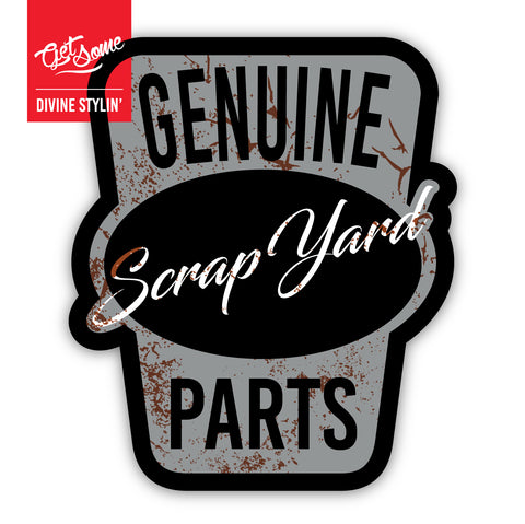 Genuine Scrap Yard Parts Sticker