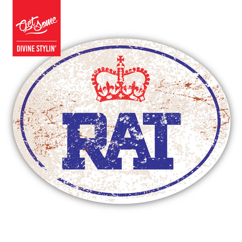 RAT Old Skool Sticker