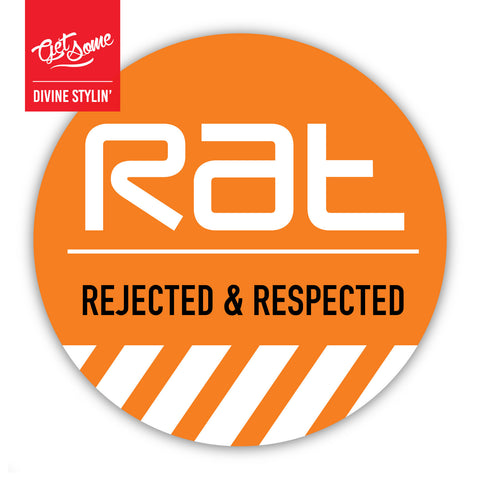 RAT Rejected Sticker