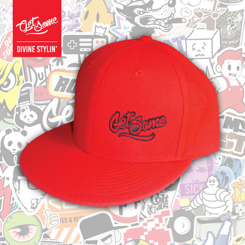 Get Some Red Snapback Cap