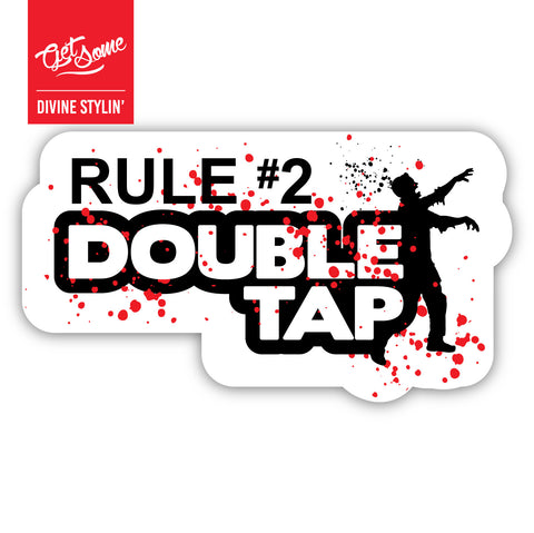 Rule #2 Sticker